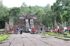 Sukuh tempel Royaltyfri Bild