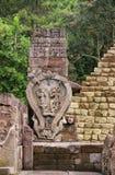Sukuh Tempel/Candi Sukuh stockfotografie