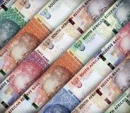 Sul - africano Rand Background Imagem de Stock Royalty Free