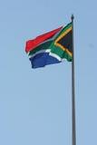 Sul - bandeira africana Fotos de Stock