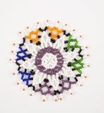 Sul - beadwork africano Imagens de Stock