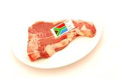 Sul - bife de T-bone africano fotos de stock royalty free