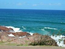 Sul bonito - oceano africano em um dia de verões fotografia de stock royalty free