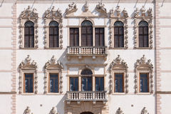 Sul Brenta (Padova, Veneto, Italia) di Piazzola, villa Contarini, ciao Fotografie Stock