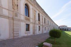Sul Brenta (Padova, Veneto, Italia) di Piazzola, villa Contarini, ciao Fotografia Stock Libera da Diritti