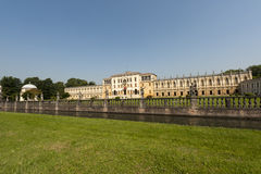 Sul Brenta, villa Contarini di Piazzola Fotografie Stock Libere da Diritti