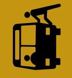 Sul bus Immagini Stock Libere da Diritti