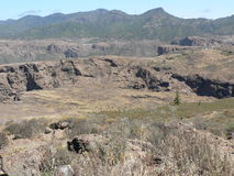 Sul canyon Immagini Stock Libere da Diritti