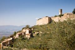 Sul Clitunno, Italia de Campello Imágenes de archivo libres de regalías