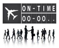 Sul concetto puntuale della gestione di organizzazione di efficienza di tempo Fotografia Stock