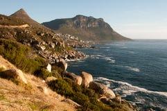 Sul - costa africana Fotografia de Stock
