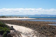 Sul - costa sul africana Fotografia de Stock Royalty Free