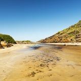 Sul da Austrália da península de Fleurieu Imagem de Stock