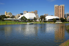 Sul da Austrália de Torrens Adelaide do rio Fotos de Stock