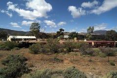 Sul da Austrália, estrada de ferro Imagem de Stock Royalty Free
