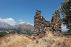 Sul de Crete, vale de Amari Foto de Stock