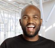 Sul feliz - homem africano Fotos de Stock Royalty Free