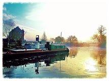 Sul fiume acido Fotografie Stock