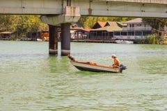 Sul fiume Bojana Fotografia Stock