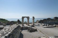Sul Garda de Sirmione, Itália Imagens de Stock