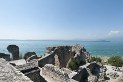 Sul Garda de Sirmione, Itália Fotos de Stock