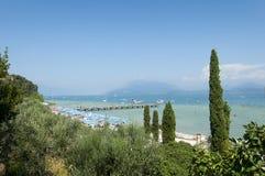 Sul Garda de Sirmione, Itália Imagens de Stock Royalty Free