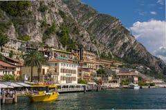 Sul Garda Limone - озеро Garda Стоковое Изображение RF