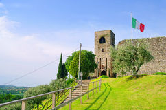 Sul Garda Padenghe стоковое фото rf