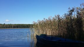 Sul lago Immagini Stock Libere da Diritti