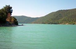 Sul lago Fotografia Stock Libera da Diritti