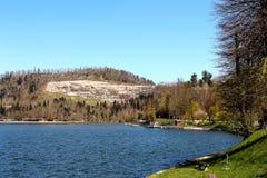 Sul lago Immagine Stock Libera da Diritti