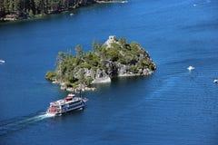 Sul lago Tahoe immagini stock libere da diritti