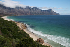 Sul - litoral africano Fotografia de Stock Royalty Free