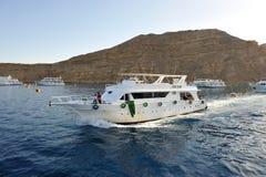 Sul Mar Rosso Fotografia Stock