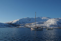 Sul mare in Norvegia del nord Fotografia Stock