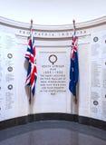 Sul - memorial de guerra africano fotos de stock