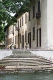 Sul Naviglio, Milán de Robecco Imágenes de archivo libres de regalías