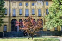 Sul Naviglio Milano, Italia di Cernusco: Villa Alari fotografia stock