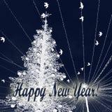 Sul nuovo anno s EVE fotografie stock