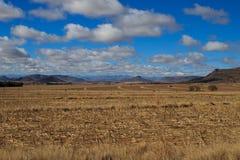 Sul - paisagem africana imagens de stock