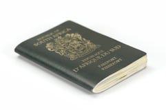 Sul - passaporte africano imagens de stock royalty free