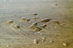 Sul pavimento dell'acqua Fotografie Stock
