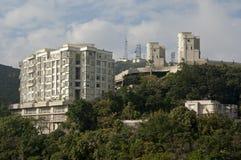 Sul picco della Victoria, Hong Kong fotografia stock libera da diritti