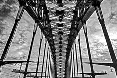 Sul ponte del porto, Sydney Fotografia Stock Libera da Diritti