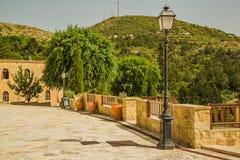 Sul territorio del monastero della st Neofitas. Il Cipro Immagini Stock Libere da Diritti