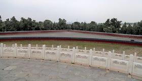 Sul territorio del tempio del cielo), Pechino, Cina Immagine Stock Libera da Diritti