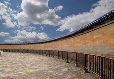 Sul territorio del tempio del cielo), Pechino, Cina Immagini Stock