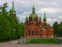 Sul Ural Chelyabinsk da igreja do russo fotografia de stock royalty free