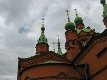 Sul Ural Chelyabinsk da igreja do russo fotos de stock royalty free