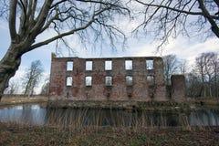 Sul velho jutland da ruína do castelo fotos de stock royalty free